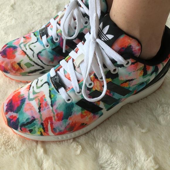 71ef249dd adidas Shoes - Colorful ZX flux adidas torsion size 8